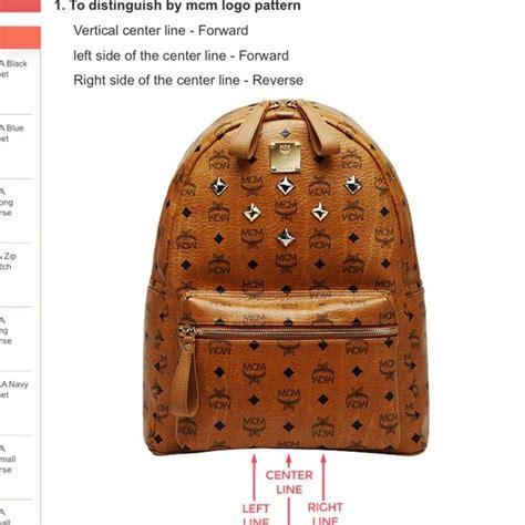 mcm backpack real  fake mishkanetcom