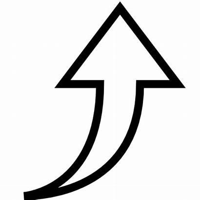 Icon Arrow Increase Arrows Increasing Clipart Symbol