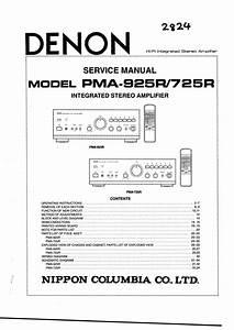 Denon Pma-725r