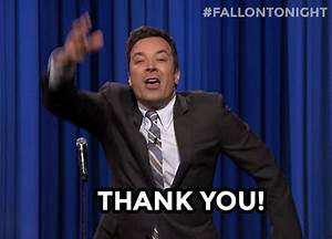Jimmy Fallon Thank You GIF - Find & Share on GIPHY