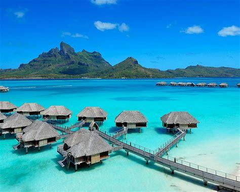 Bora Bora Island And Best Beach Hut Resort The Best Beach