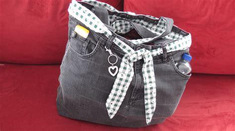 tasche aus diy einfache tasche n 228 hen aus einer alten f 252 r n 228 hanf 228 nger family management cheznu tv