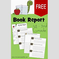 Book Report Forms  Free Printable Book Report Forms For
