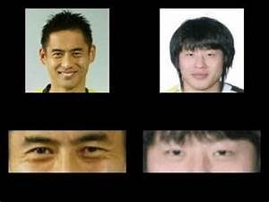 Japanese eyes vs. Korean eyes 2 - YouTube