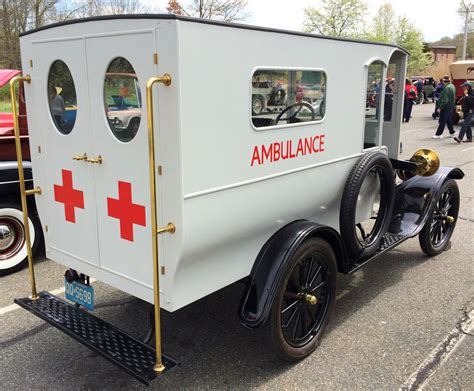 Model T Ambulance by 1922 Ford Model T Ambulance At The 2014 Aaca Car Show In