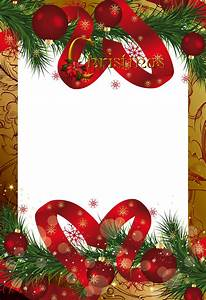 Gold Christmas Frame   Gallery Yopriceville - High-Quality ...