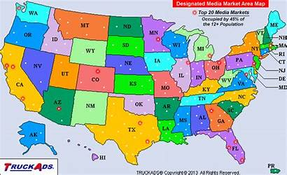 Map Market Designated Tv Maps Areas Marketing