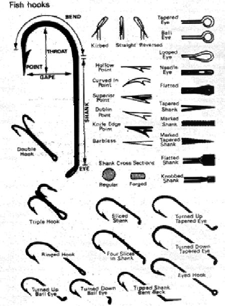 hook types employed  hook gear  scientific