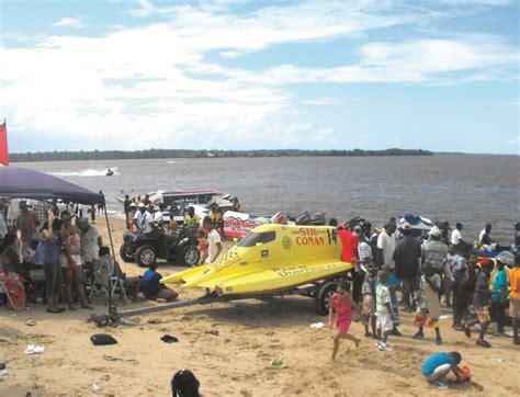 Jet Boat Guyana by Bartica Regatta Rocked Despite No Pageant