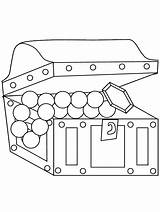 Chest Coloring Pages Pirata Jewel Coloriage Pirates Advertisement sketch template
