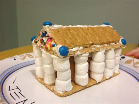 gingerbread house  parthenon ancient greece ancient