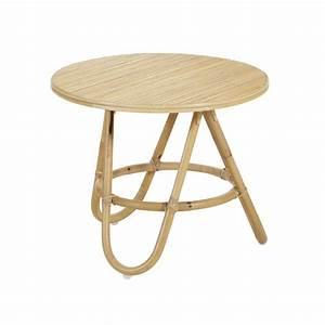 Table Basse Rotin : table basse en rotin diabolo plateau rotin ~ Teatrodelosmanantiales.com Idées de Décoration