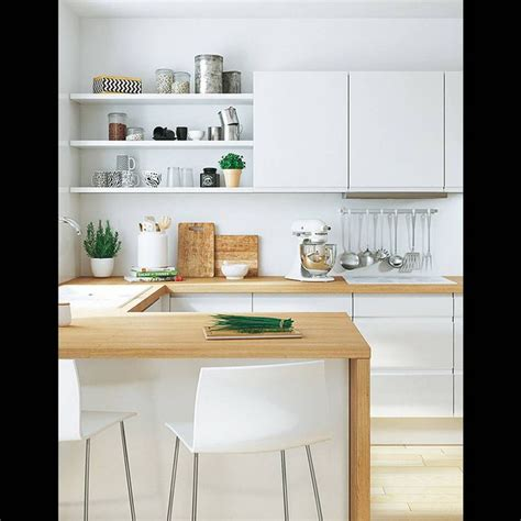 cuisine blanche en bois les 25 meilleures idées de la catégorie cuisine blanche et