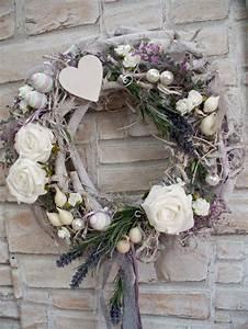 Türkranz Winter Modern : t rkr nze t rkranz xl lavendel rosen fr hling landhaus wei ein designerst ck von die mit ~ Whattoseeinmadrid.com Haus und Dekorationen