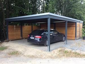 Doppelcarport Mit Abstellraum Seitlich : beispiele moderner doppelcarport carporthaus ~ Frokenaadalensverden.com Haus und Dekorationen