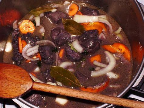 cuisiner le sanglier en daube daube de sanglier