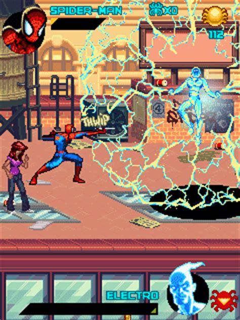 Java Game Screenshots Spiderman Toxic City Gameplay