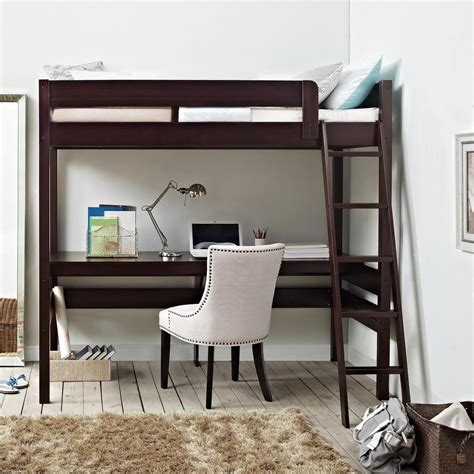 bed and computer desk combo hillsdale furniture rockdale twin over full kids bunk bed