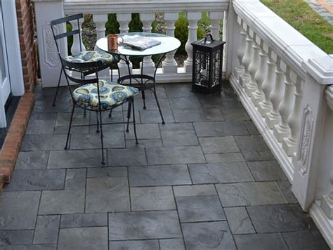 slate patio tiles best outdoor flooring flooring ideas