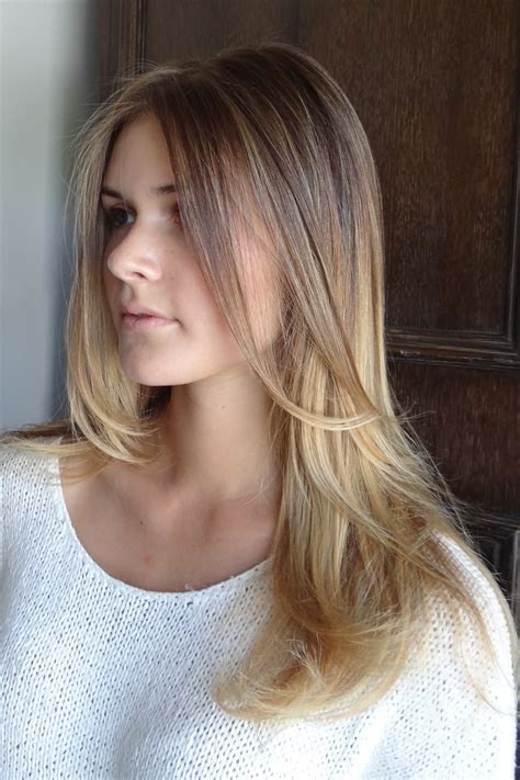 Hair With by The In Between Bronde Hair Color Neil George