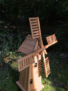 Holz Deko Garten : windm hle aus holz handgefertigte holzwindm hle garten deko don quijote m hle ebay ~ Orissabook.com Haus und Dekorationen