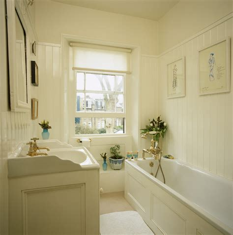 Vintage White Bathroom