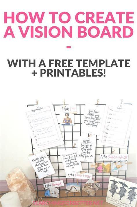 creating  vision board    vision board