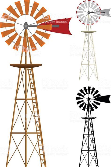 Windmill Clipart Windmills Stock Vector 530996810 Istock