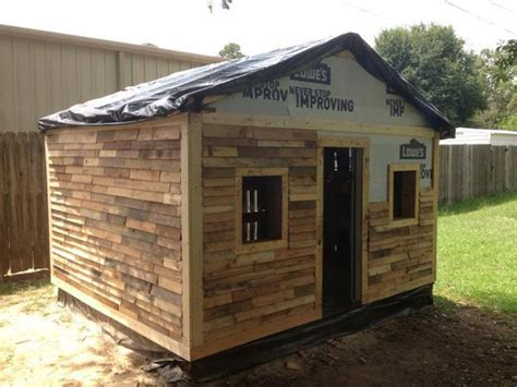 Pallet Wood Shed Siding