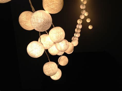 string lights white cotton string lights for patioweddingparty and