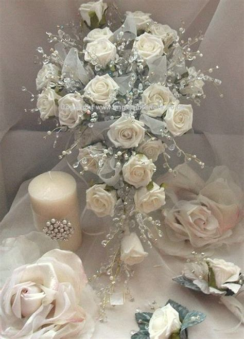 artificial silk flowers wedding bouquets wedding ideas