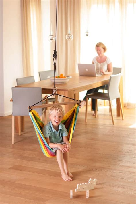 in swing make your own playground in your home with indoor swing