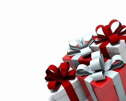 Christmas Present Gift Backgrounds Boxes Birthday Gifts
