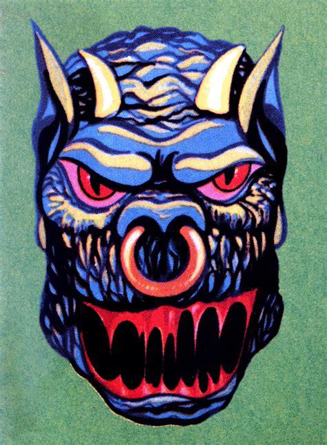 MONSTER BRAINS: Monster Stickers