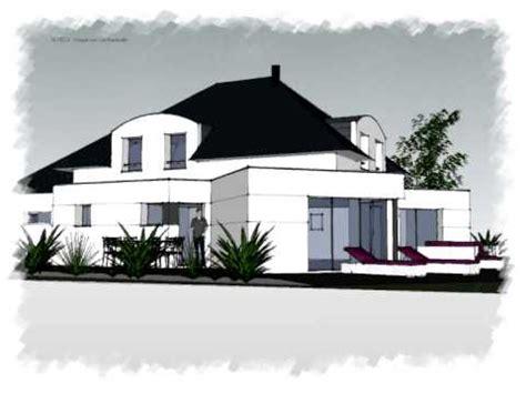arteco 290 maison contemporaine 4 pans