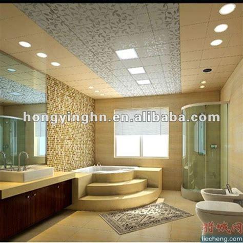 deco chambre lambris pvc faux plafond pour salle de bains tuiles de plafond id