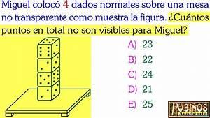 Examen De Admisi U00f3n A La Universidad Problema De Dados