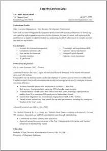 security resume sle objective telemarketing sales resume sales sales lewesmr