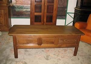 Table Basse Rustique : table basse rustique en chataignier xixe antiquites lecomte ~ Teatrodelosmanantiales.com Idées de Décoration