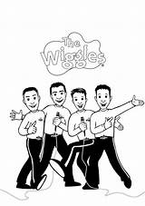 Wiggles Coloring Colouring Drawing Printable Mr Getcolorings Drawings Paintingvalley Popular sketch template