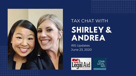 An ey tax professional can handle your tax returns for you at a competitive price. Tax Chat 6 23 20 IRS Updates - YouTube