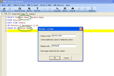 sql change table name sql change table name asp net and sql server how to
