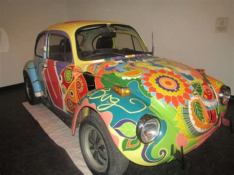 Volkswagen Bug From Vrba's Parts On Display At Colorado