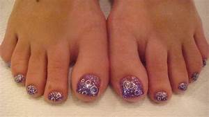 Acrylic nails on toes - how you can do it at home ...