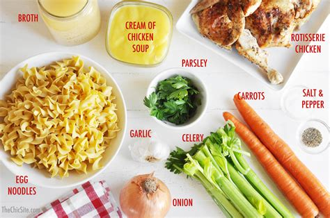 soup ingredients slow cooker chicken soup the chic site