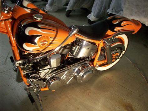 Harley Davidson Somerset Pa by 1959 Harley Davidson 174 Fl Panhead Orangeblack Custom