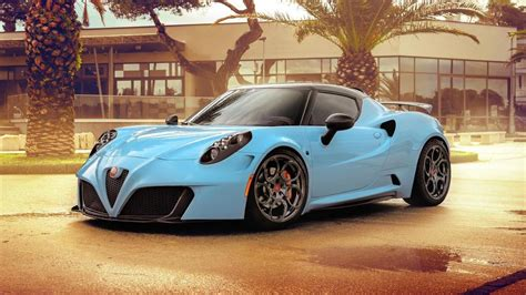 look at this modified alfa romeo 4c top gear