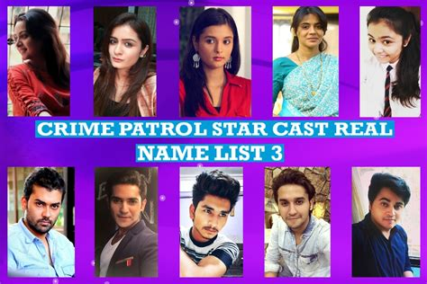 crime patrol cast real name list 3 real and more