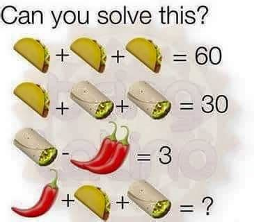 Can You Solve This?  Puzzle Answer