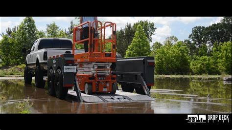 How To Load A Scissor Lift On A Trailer
